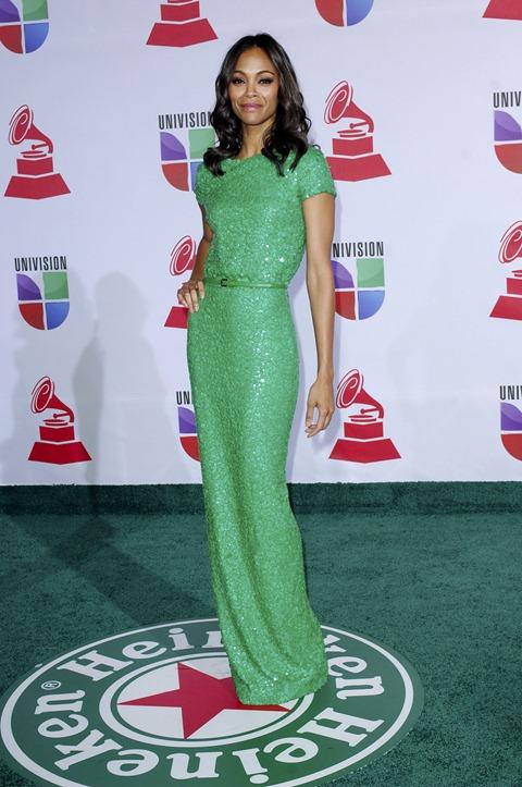 zoe_saldana_green_long_gown