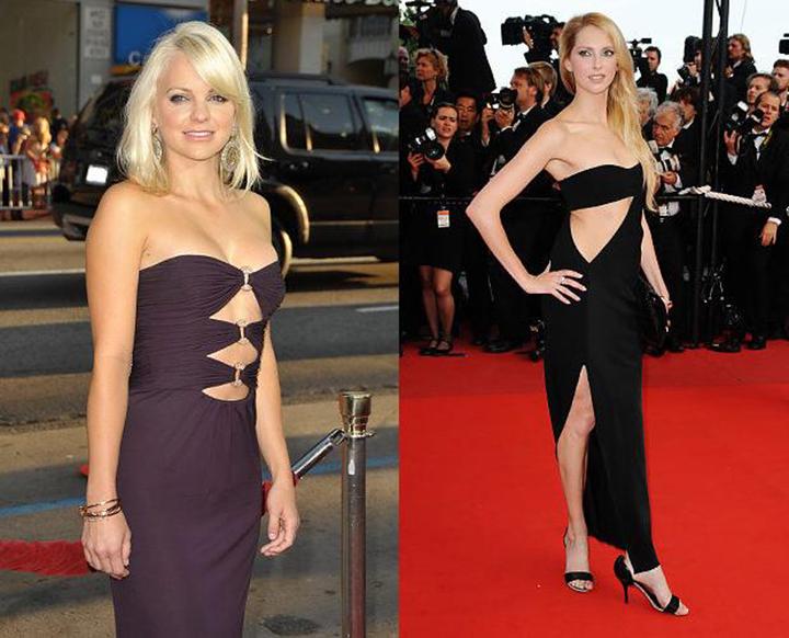 Мясорубка моды: вырезы на платьях