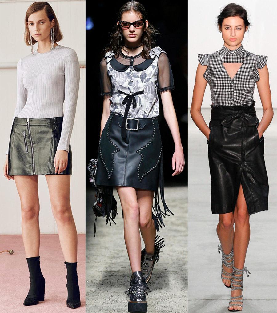 Модные юбки 2018 года!