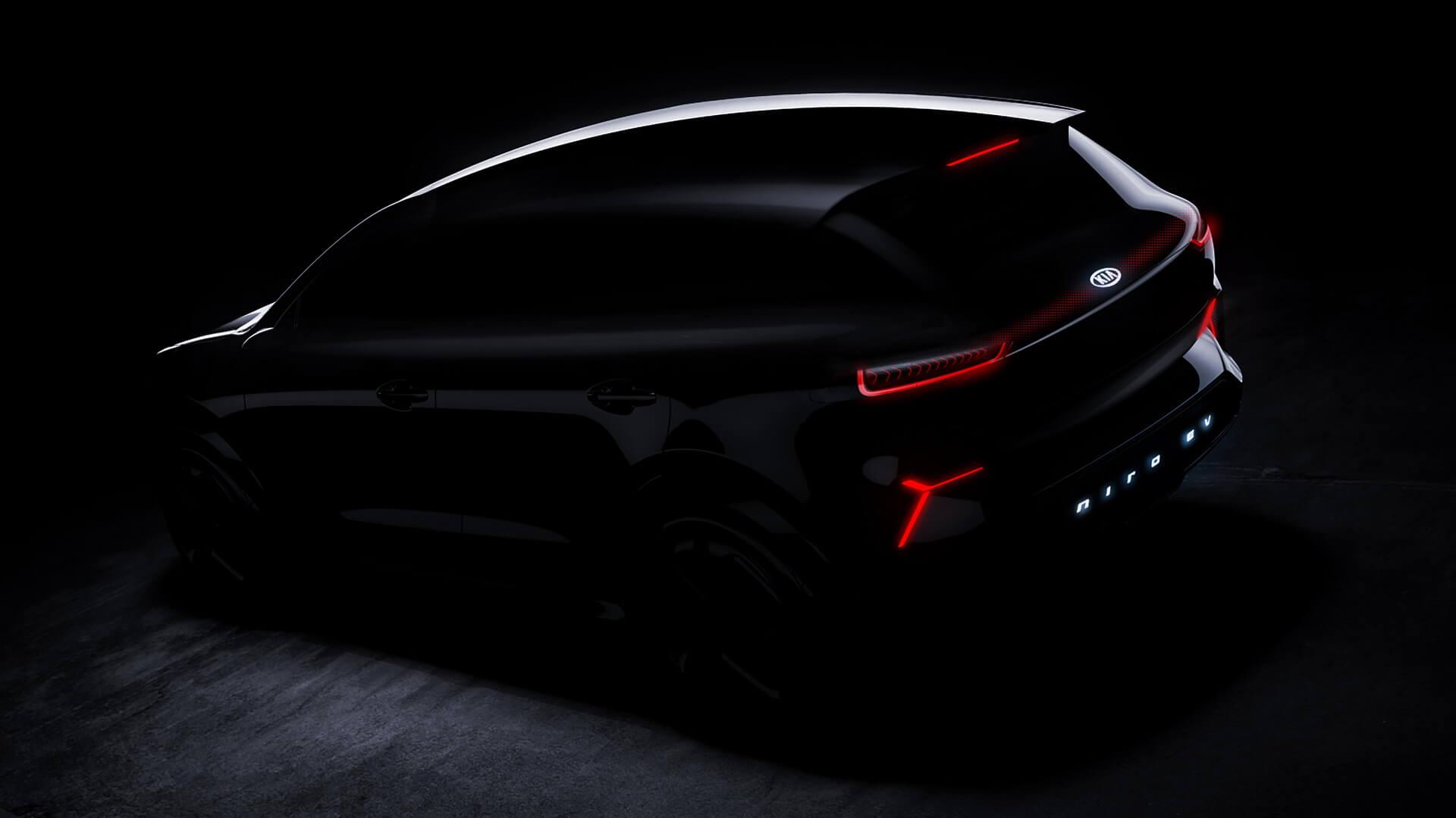Полностью электрический автомобиль Kia Niro EV 2019!