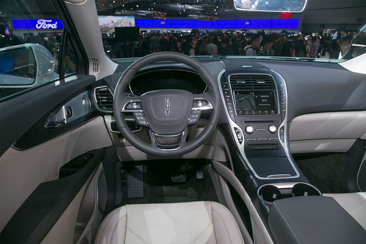 Lincoln Nautilus 2018 сменит кроссовер MKX