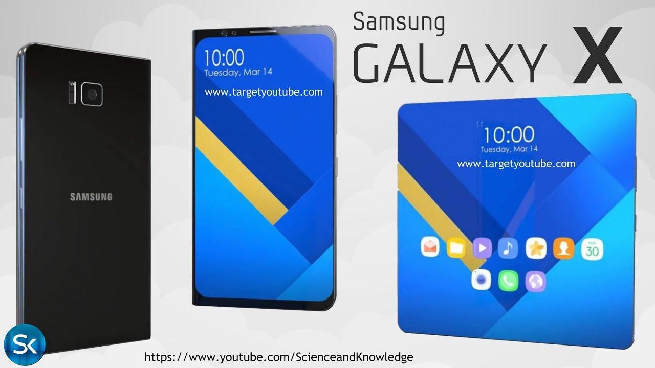 Samsung Galaxy X - новое поколение смартфонов!