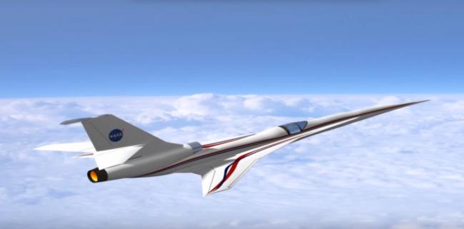 Проектирование беззвучного самолет от NASA