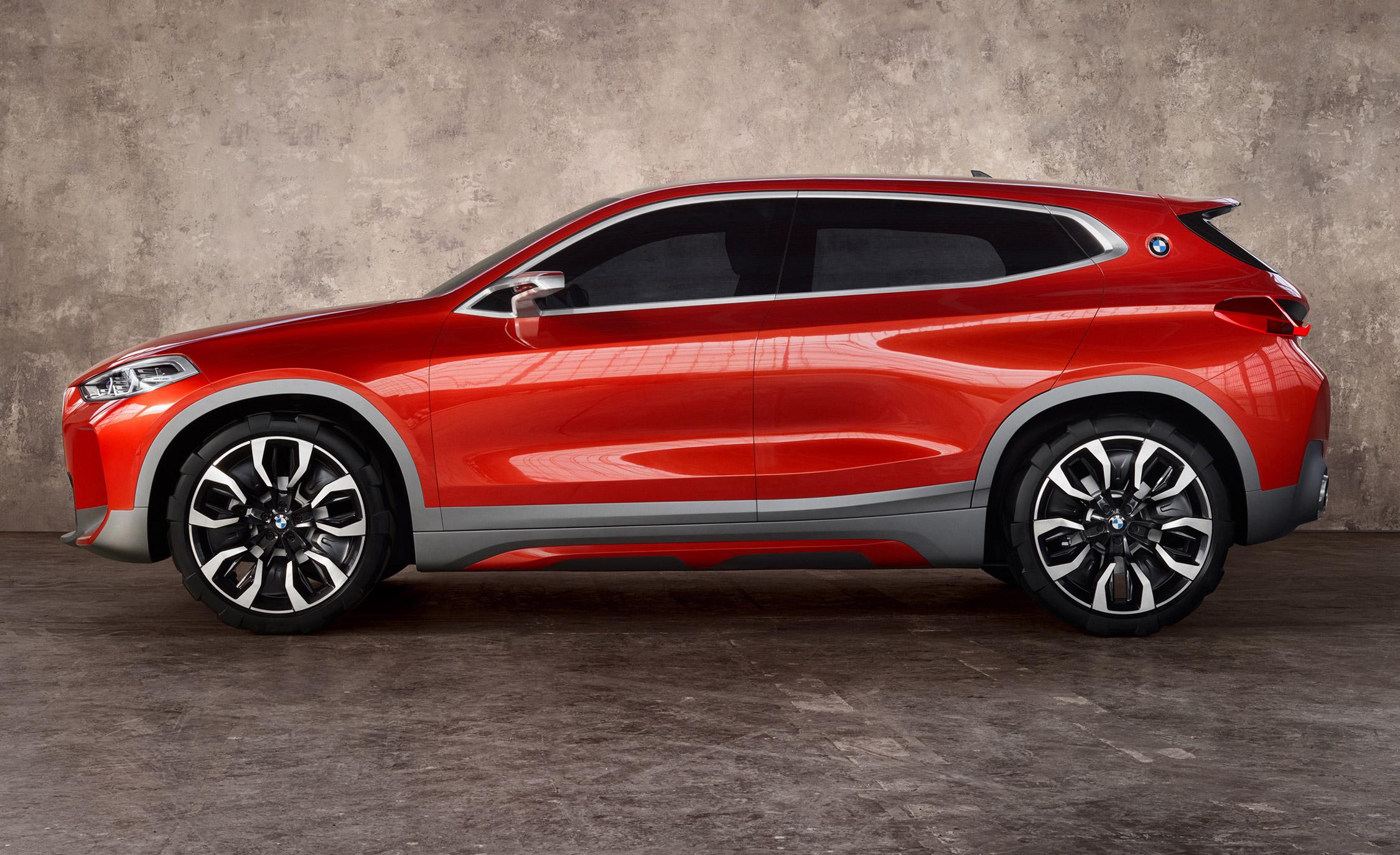Мировая автопремьера'18: BMW X2