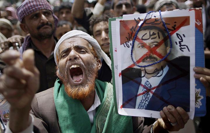 В Йемене продолжаются антиправительственные протесты